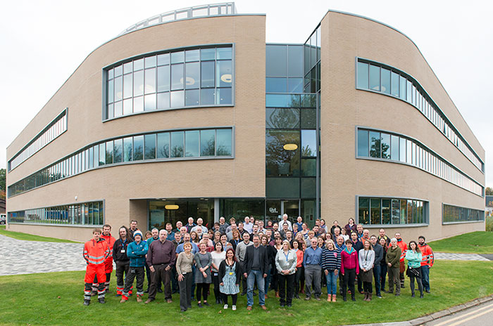 BGS and Heriot-Watt staff based at the Lyell Centre