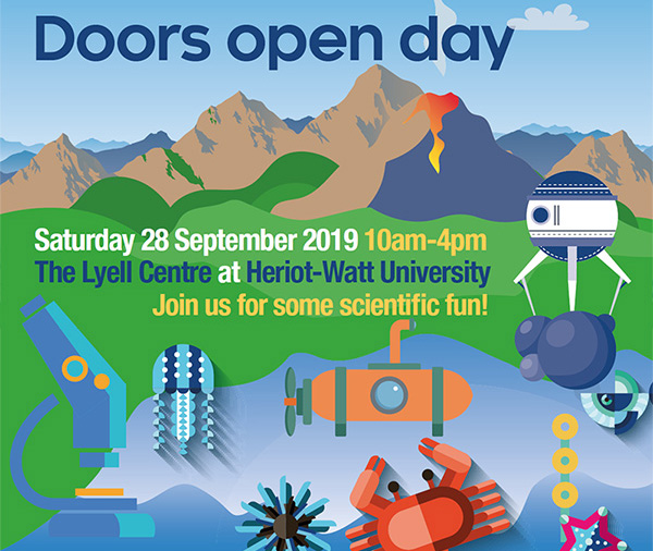 Doors open day at the Lyell Centre