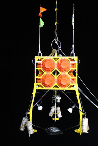 The 'Anonyx' benthic camera lander (Sweetman group).